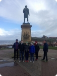 Captain Cook's Monument in Whitby ,