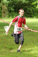 A rather wet Joe Thomas finishing at the JIRCS 201,